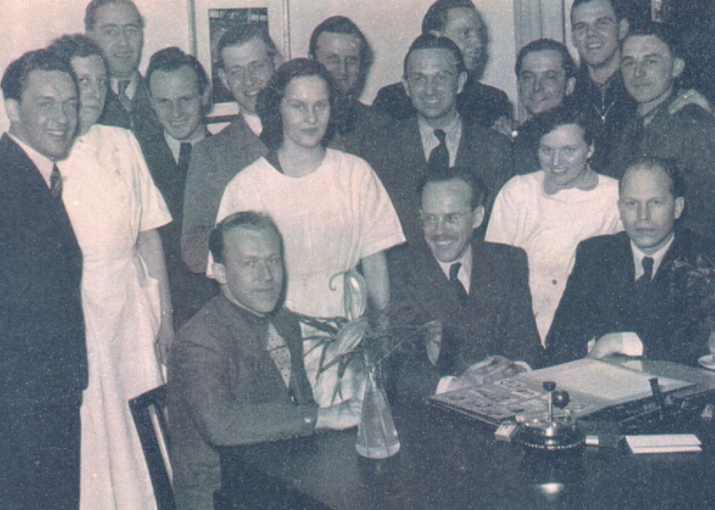 Ing. Meingast and his team at Borgward about 1952